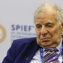 Mirė rusų fizikas, Nobelio premijos laureatas