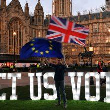 "Tolesni ""Brexit"" scenarijai: galimos kryptys"