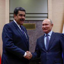 Venesuela: Rusijos pajėgos šalyje liks tol, kol reikės