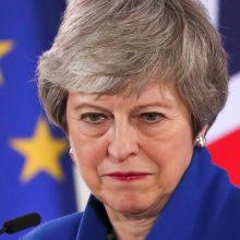 """ES sutiko atidėti """"Brexit"""" iki spalio 31-osios"""