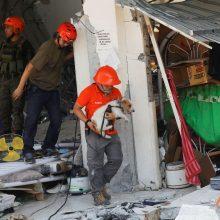 Filipinuose per žemės drebėjimą sužeisti daugiau kaip 50 žmonių