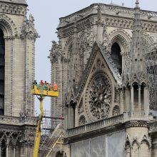 Pripažino: darbininkai Paryžiaus katedroje rūkė, nepaisydami draudimo