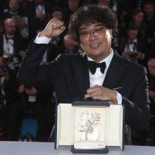 """""""Auksinė palmės šakelė"""" atiteko Pietų Korėjos režisieriui"""