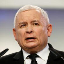 J. Kaczynskis: Lenkijos valdančioji partija turės naują lyderį