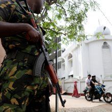 Velykų išpuoliai Šri Lankoje: sulaikyti policijos viršininkas ir gynybos vadovas