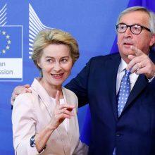 EK vadovas: nominuojant U. von der Leyen trūko skaidrumo