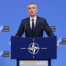 NATO vadovas paragino Rusiją pasinaudoti paskutine galimybe išsaugoti INF sutartį