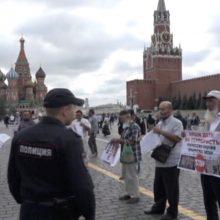 Rusija sulaikė kelias dešimtis Krymo totorių