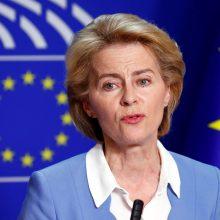 """Kandidatė į EK pirmininkus: """"Brexit"""" gali būti vėl atidėtas"""