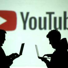 """Uždaryta daugiau nei 200 """"YouTube"""" kanalų, nukreiptų prieš protestus Honkonge"""