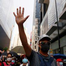 Kitų metų Nobelio taikos premijai pasiūlyti Honkongo gyventojai