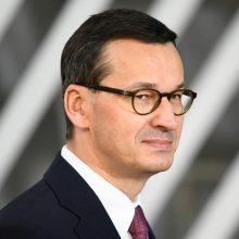 Lenkijos premjeru vėl paskirtas M. Morawieckis