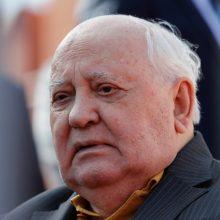 V. Putinas pasveikino M. Gorbačiovą 90 metų jubiliejaus proga