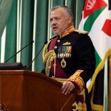 """Jordanijos karalius perspėjo apie """"Islamo valstybės"""" sugrįžimą"""