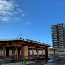 Tokijo olimpiados organizatoriai pristatė olimpinio kaimelio centrą