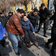 Kazachstane sulaikyta iki 100 opozicijos protestuotojų