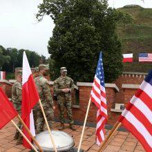Varšuva: Lenkija ir JAV kitą savaitę pasirašys naują gynybos susitarimą