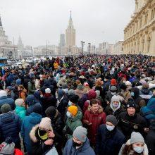 Rusija sako atsakysianti į galimas naujas ES sankcijas