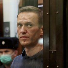A. Navalno gynėjai apskundė jam šmeižto byloje paskelbtą nuosprendį