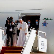 Popiežius užbaigė istorinį vizitą Irake