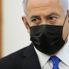 Izraelio prezidentas pavedė B. Netanyahu formuoti naują vyriausybę