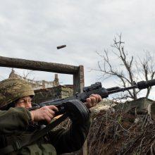 Rusija apkaltino JAV ir NATO pavertus Ukrainą parako statine