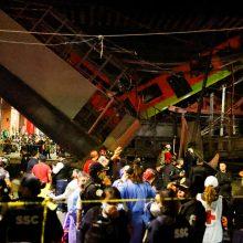Meksiko metropoliteno avarijos aukų padaugėjo iki 23