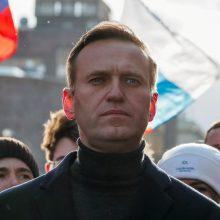 Rusija pavadino A. Navalną JAV agentu
