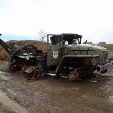 Kalnų Karabache sprogus minai žuvo du azerbaidžaniečių žurnalistai