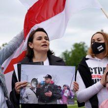 S. Cichanouskis stojo prieš Baltarusijos teismą