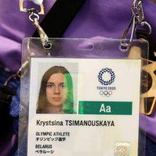 TOK atliks tyrimą dėl Minsko bandymo prievarta grąžinti namo olimpietę
