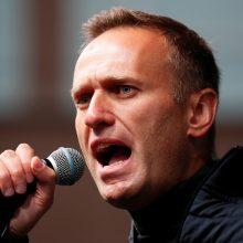Kremliaus kritikas A. Navalnas įtrauktas į įskaitą kaip ekstremistas ir teroristas