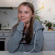 G. Thunberg išsikraustė iš tėvų namų