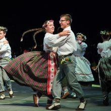 Miestuose ir miesteliuose – masinės tautinių šokių pamokos