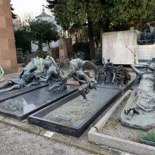 Muziejus po atviru dangumi Milane: kapinės, kuriose net mirtis neatrodo baisi