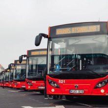 Kauno gatvėmis riedės 100 naujų hibridinių autobusų