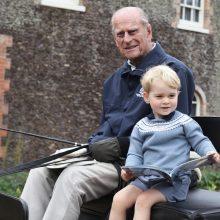 Princas Williamas pasidalijo jautria nuotrauka