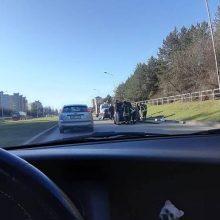 Neatidumo per vakarinį piką Kaune kaina – keturi sužeisti eismo dalyviai