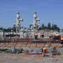 """""""Nord Stream 2"""" operatorius: dujotiekio tiesimas gali užtrukti dėl Danijos delsimo"""