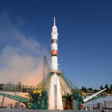 Rusijos erdvėlaiviui per pakartotinį manevrą pavyko susijungti su TKS