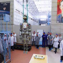 Rusija nebenaudos roboto FEDOR per būsimas kosmoso misijas
