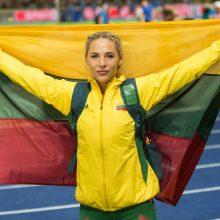 Ieties metikė L. Jasiūnaitė pagerino 19 metų gyvavusį Lietuvos rekordą