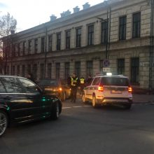 Nelaimė Kauno centre: partrenktas žmogus
