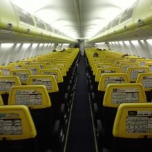 Skrydis iš Kauno į Milaną – tuščiame lėktuve