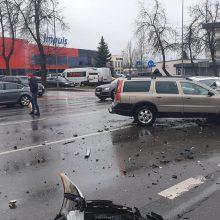 Masinė avarija Šiauliuose: yra nukentėjusių