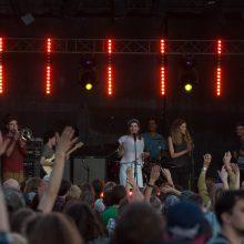 """""""Sostinės dienų"""" festivalis sutraukė rekordinį skaičių žmonių"""