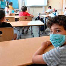 Rugsėjo 1-oji mokyklose: pamokos skirtingu laiku, maistas klasėse, dezinfekcija