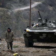 Lietuva skyrė humanitarinę pagalbą nukentėjusiems nuo karo veiksmų Kalnų Karabache
