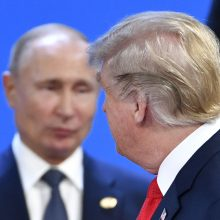 D. Trumpas ir V. Putinas gali susitikti per G-20 forumą