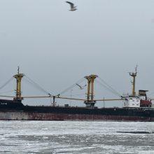 Ukraina planuoja vėl pasiųsti karinių laivų praplaukti Kerčės sąsiauriu